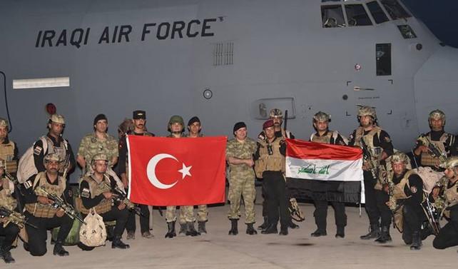 Sınırda Irak ile ortak tatbikat
