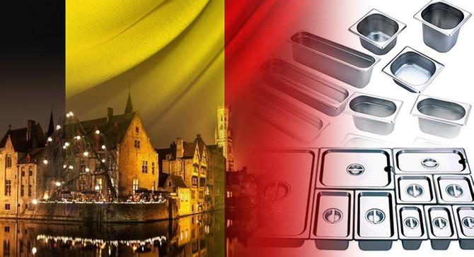 Belçikalı bir firma gastronorm kaplar ithal etmek istiyor