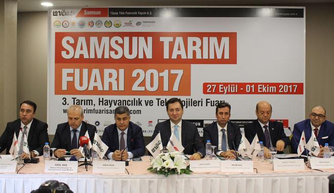Tarım sektörünün kalbi Samsun'da atacak