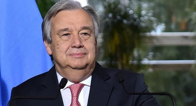 Guterres'ten nükleer silahsızlanma çağrısı