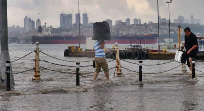 İstanbul için 'çok kuvvetli sağanak' uyarısı