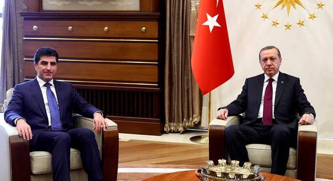 Barzani: Vana Türkiye'nin elinde ama...