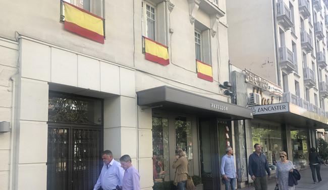 İspanyollardan Katalonya'ya bayraklı tepki