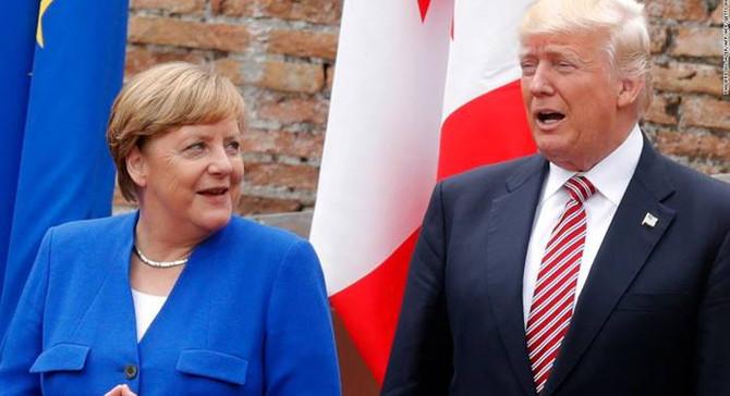 Trump'tan Merkel'e tebrik telefonu