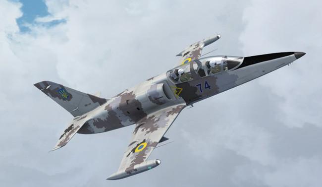 Ukrayna'da L-39 tipi eğitim uçağı düştü