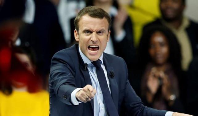 Macron: Kuzey Koreye sert cevap verilmeli