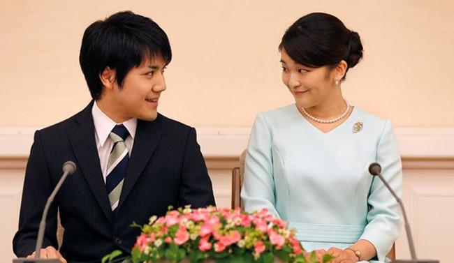 Japon prensesi Mako nişanlandı