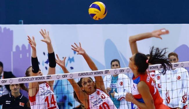 Milliler yarı finalde Sırbistan'a mağlup oldu