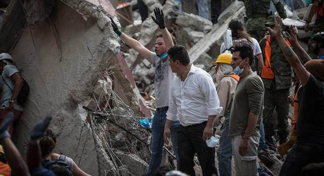 Meksika'daki depremde ölü sayısı 360'a çıktı