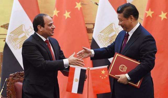 Şi ile Sisi BRICS zirvesinde bir araya geldi