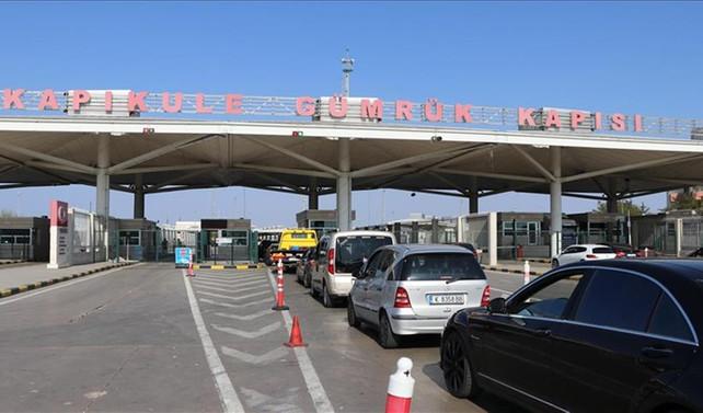 Kapıkule'den bir ayda 147 bin araç girdi