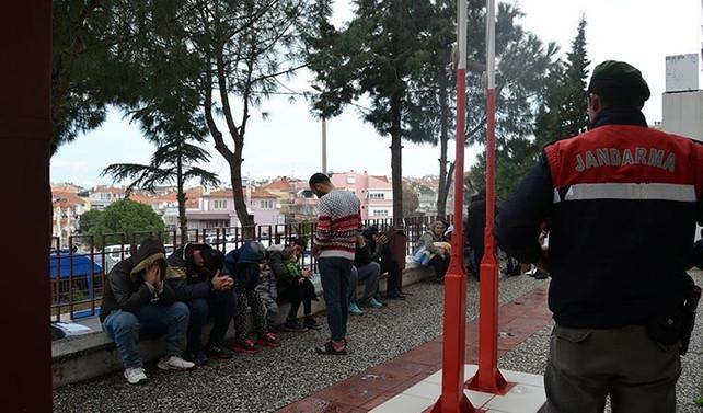 Edirne'de 477 kaçak ve sığınmacı yakalandı