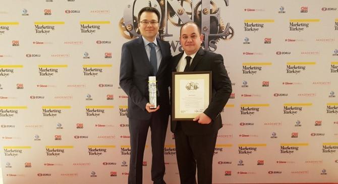 Tepe Güvenlik'e yılın en başarılı markası ödülü