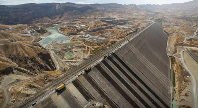 Ilısu Barajı ve HES üniteleri enerji üretimi için hazır