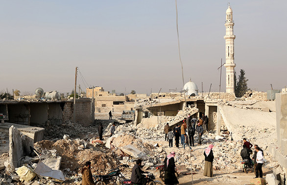 İdlib'de hava saldırılarında 14 sivil hayatını kaybetti