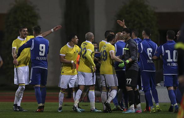 Fenerbahçe Kukesi ile berabere kaldı
