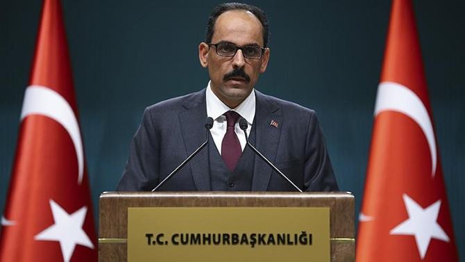 Türkiye'den 'YPG ordusu' açıklamasına yanıt