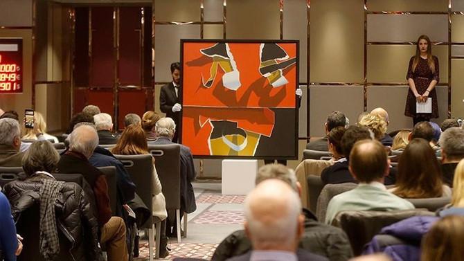 3 tablo 2 milyon 200 bin TL'ye satıldı