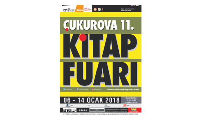 sezonun ilk kitap fuarı Adana'da