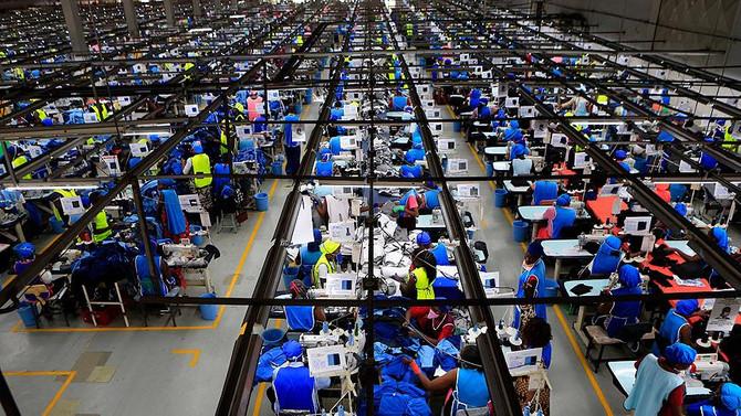 Türk-Cezayir ortaklığında Afrika'nın en büyük tekstil tesisi açıldı