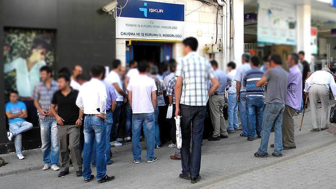 İşsizlik oranı ekimde yüzde 10,3'e indi
