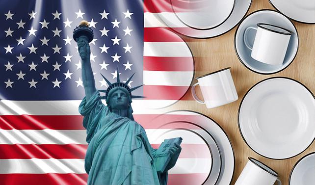 Amerikalı müşteri restoranlar için emaye kaplar satın alacak