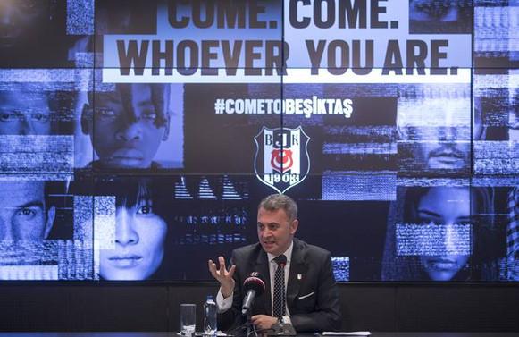 Orman: 'Come to Beşiktaş' ile 1.2 milyar kişiye ulaştık