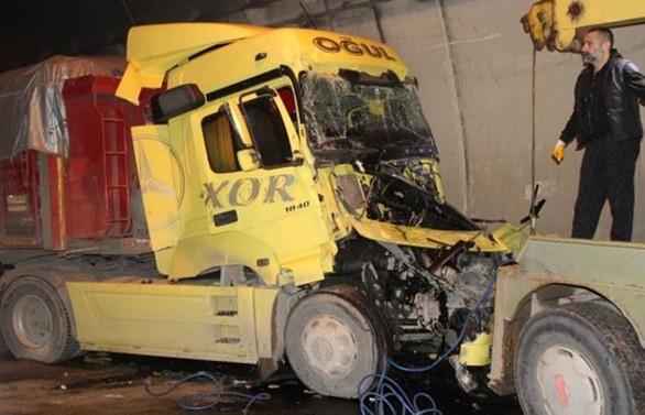 TEM'de kaza: 12 araç birbirine girdi