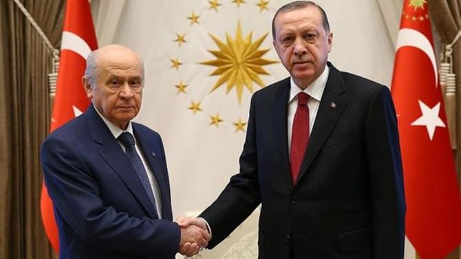AK Parti-MHP ittifak görüşmeleri başlıyor