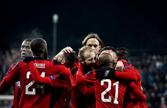Östersunds, İsveç'te yılın takımı seçildi