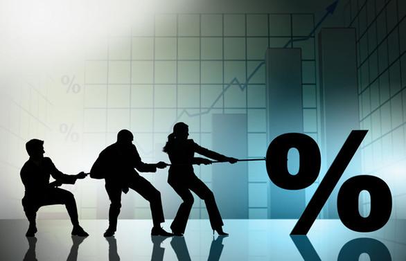 Milli gelirin yüzde 1.9'u faize gitti