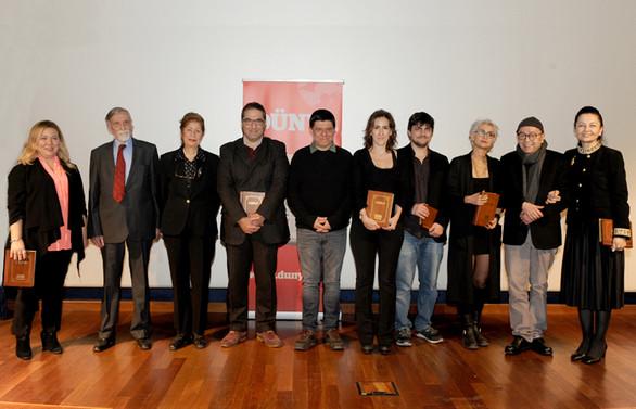 DÜNYA Kitap Ödülleri 25. kez sahiplerini buldu