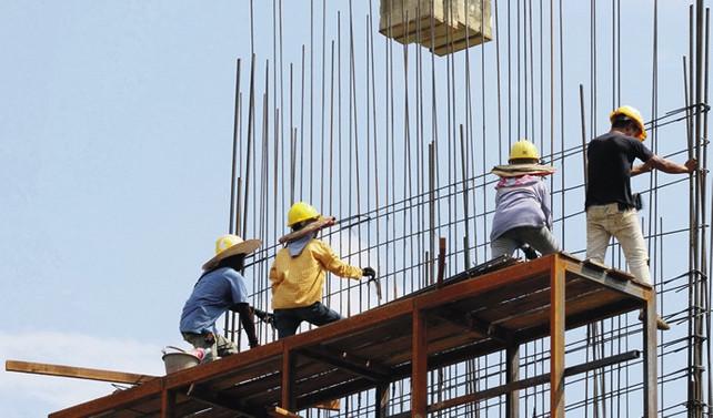 Avrupa'da inşaat üretimi kasımda arttı