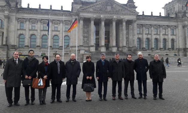 Ankara-Berlin hattında güvenlik diplomasisi