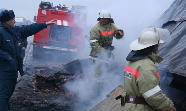 Kazakistan'da yanan otobüste 52 kişi hayatını kaybetti