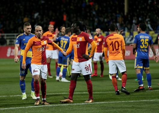 Galatasaray kupada rahat turladı