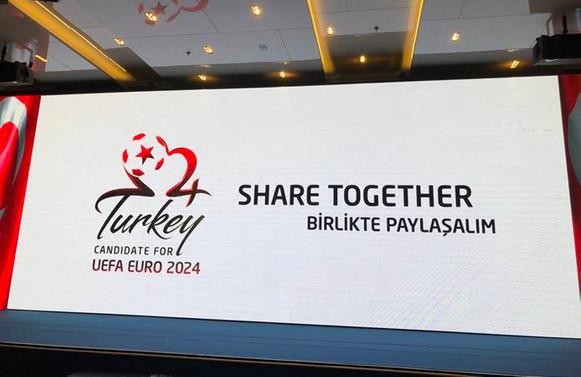 Türkiye'nin sloganı Birlikte Paylaşalım