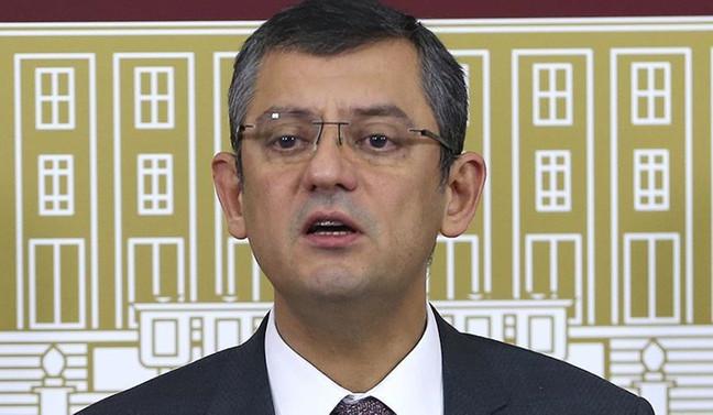 CHP'li Özel'den TBMM'ye 'Milli Mutabakat Komisyonu' başvurusu