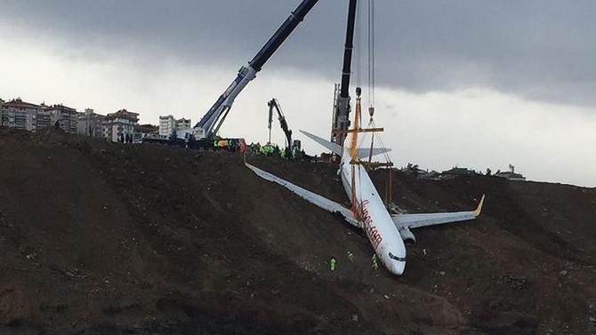 Uçak kazasının detayları açıklandı