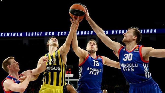 Avrupa derbisinin galibi Fenerbahçe Doğuş