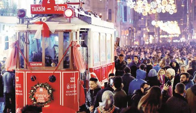Yılbaşında İstanbul'da 215 kişi gözaltına alındı