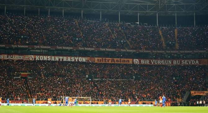 En çok seyircili maçlar Galatasaray'ın