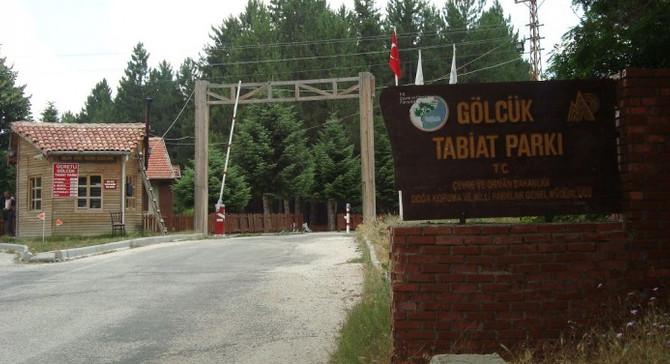 Gölcük Tabiat Parkı ihalesi iptal edildi