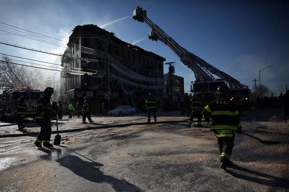 ABD'de yangın: 16 yaralı