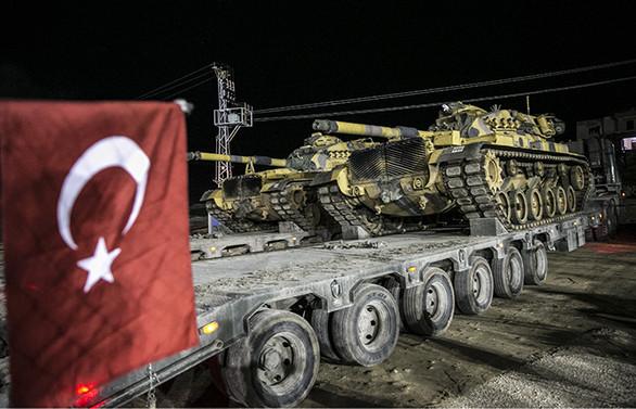 Türkiye'den bölge ülkelerine Zeytin Dalı bilgilendirmesi