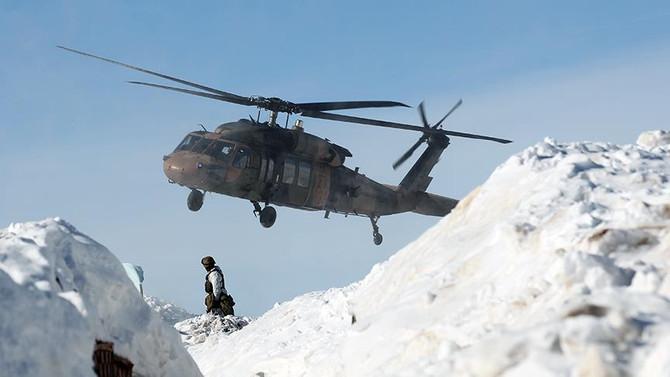 Bitlis'te çığ düştü: 5 asker şehit, 12 yaralı