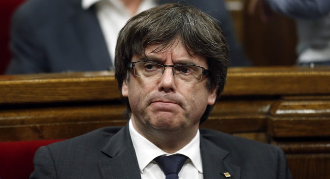 Eski Katalan lider Puigdemont, yeniden aday gösterildi