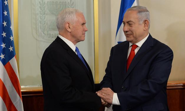 ABD Başkan Yardımcısı Pence, İsrail'de