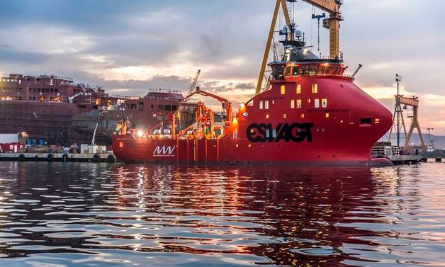 Türkiye'nin ilk rüzgâr türbin bakım gemisi teslim edildi