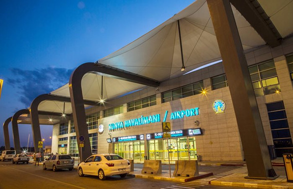 Konya Havalimanı'na bakanlık desteği